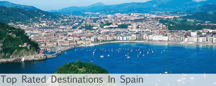 top rated destinations in spain