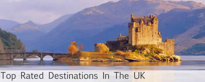 top rated destinations in the uk