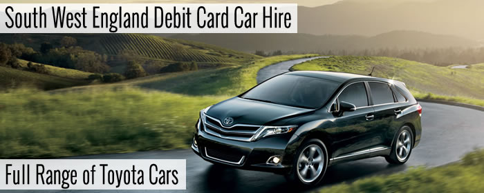 South West England Debit Card Car Hire