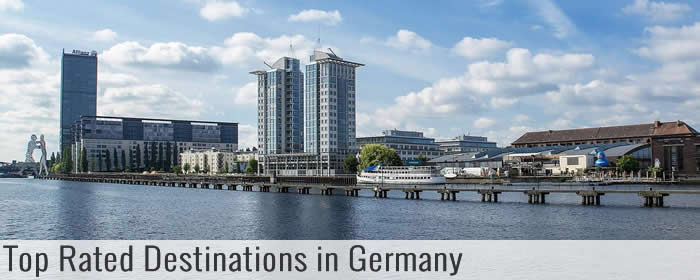 Top rated destinations in Germany