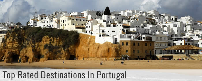Top rated destinations in Portugal