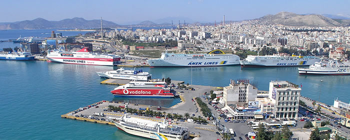 Piraeus Port, Athens